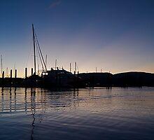 Sunsetting by David Robichaud