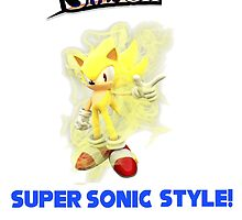 SMASH SUPER SONIC STYLE by TheMachampion