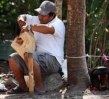 Chichenitza Jaguar Carver by phil decocco