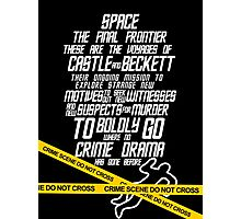 Castle The Final Frontier- v2b Photographic Print