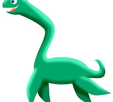 NESSIE by wickedcartoons