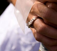 Bride, Rings, and Flowers by cforsythe