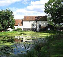 Memories of Suffolk - Pakenham Water Mill by Crystallographix