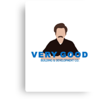 Very Good Building & Development Co. Canvas Print