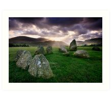 Ancient Stones : Castlerigg Art Print