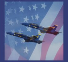 Blue Angels by artisandelimage