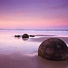 Moeraki Sunset by Kasia Nowak