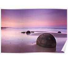 Moeraki Sunset Poster
