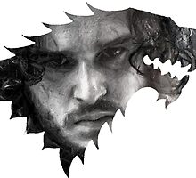 Dire Wolf Collection - John Snow by goofyjeremy