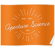 Aperture Science Poster