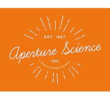 Aperture Science Photographic Print