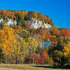 Autumn Colours in the Morning at Rattlesnake Point, Niagara Escarpment by MarkEmmerson