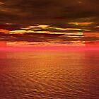 Last summer sunset by digitalillusion
