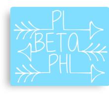 Pi Beta Phi Arrows Canvas Print