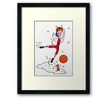 Basketball Angel Framed Print