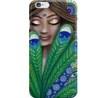 The Peacock Nymph iPhone Case/Skin