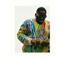 The Notorious B.I.G  Art Print