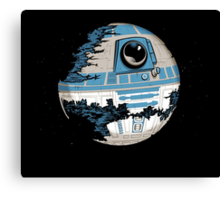 R2-D2 Death Star Canvas Print
