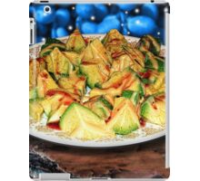Honey Mustard Raspberry Dressing on Avocado iPad Case/Skin