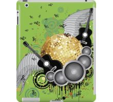 Abstract party design 4 iPad Case/Skin
