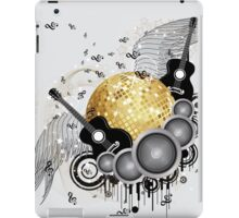 Abstract party design 5 iPad Case/Skin