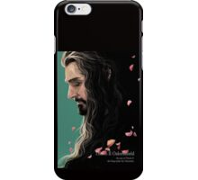 King with petals (b) iPhone Case/Skin