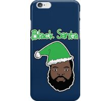 Black Santa iPhone Case/Skin