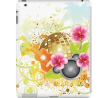 Tropical party poster 2 iPad Case/Skin