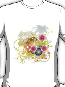 Tropical party poster 2 T-Shirt