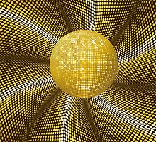 Golden disco ball 2 by AnnArtshock