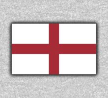 England Flag, English Flag, Flag of St George, Pure & simple Kids Clothes