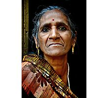 A Woman in Varanasi Photographic Print