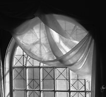 Arched Window, Study in Black and White #3 by Wayne King