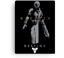Destiny Warlock Action Figure Canvas Print