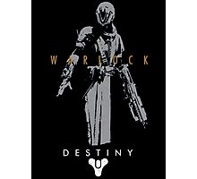 Destiny Warlock Action Figure Photographic Print