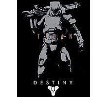 Destiny Titan Action Figure Photographic Print