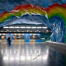Stadion T-Bana Station, Stockholm, Sweden by dingobear