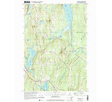 Maine USGS Historical Map Readfield 102912 2000 24000 Photographic Print