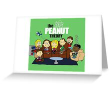 The Peanut Theory Greeting Card