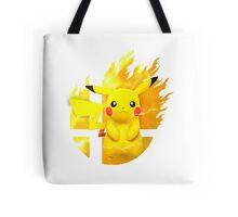 Smash Pikachu Tote Bag