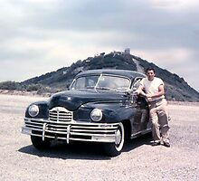 """Ready To Rumble ~ Lynn and His 1949 Packard"" by Lynn Bawden"
