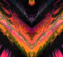 psychedelic flames by filippobassano