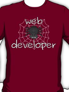 Eight-legged web developer T-Shirt