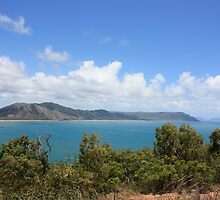 View from Grassy Hill in Cooktown, northern Australia by springplains