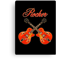 Rocker  Red  Canvas Print