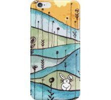 Lonely Bunny iPhone Case/Skin