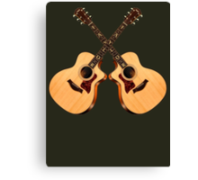 Wonderful Taylor Guitars  Canvas Print