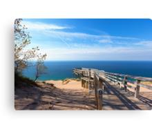 Sleeping Bear Dunes Overlook Canvas Print
