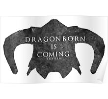 Dragonborn is coming Poster
