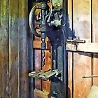 Drill Press in Shop by Susan Savad
